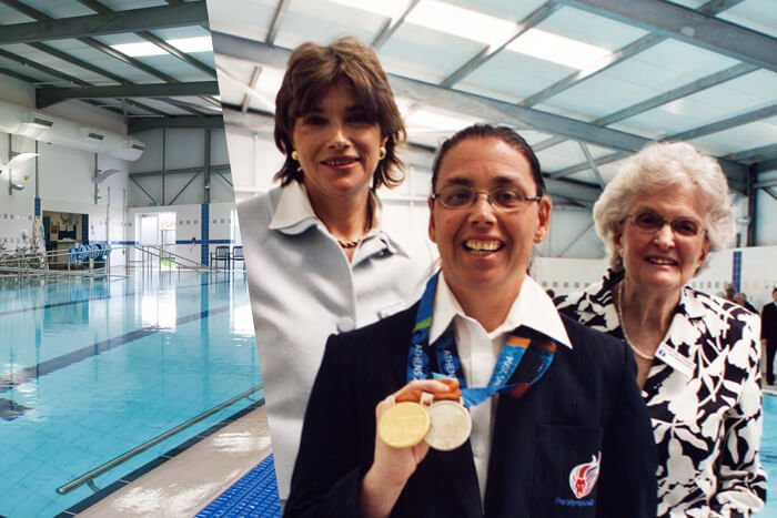 Hydrotherapy Pool funded by The League of Friends