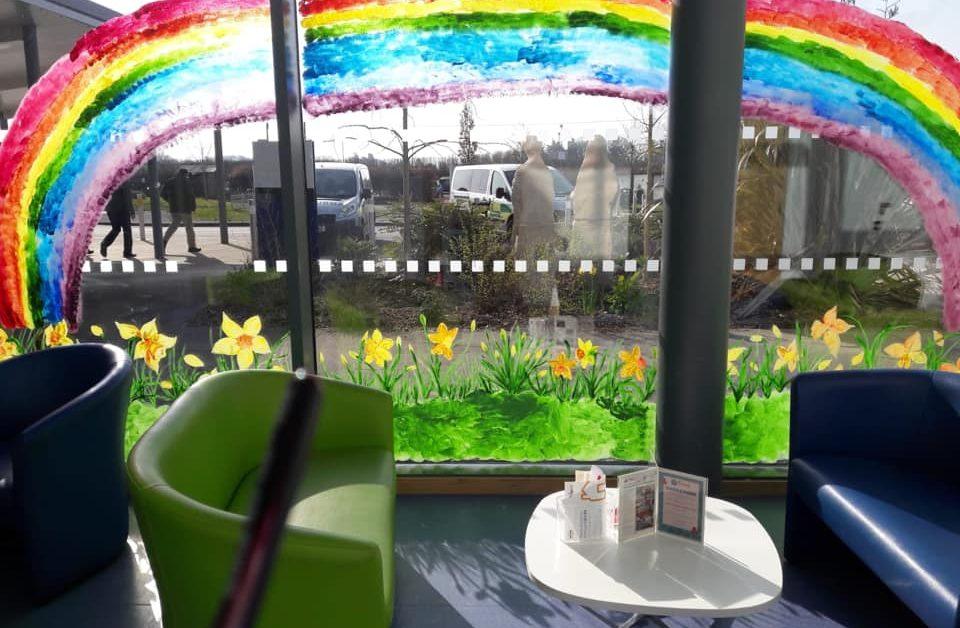 Daffodils and Rainbows at RJAH